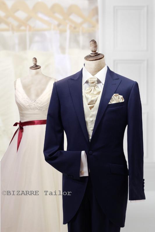 80af49f5ca10 Oblek na mieru – SALÓN BIZARRE 7-modry-svadobny-zaket-s-kremovou-vestou -  Oblek na mieru - SALÓN BIZARRE